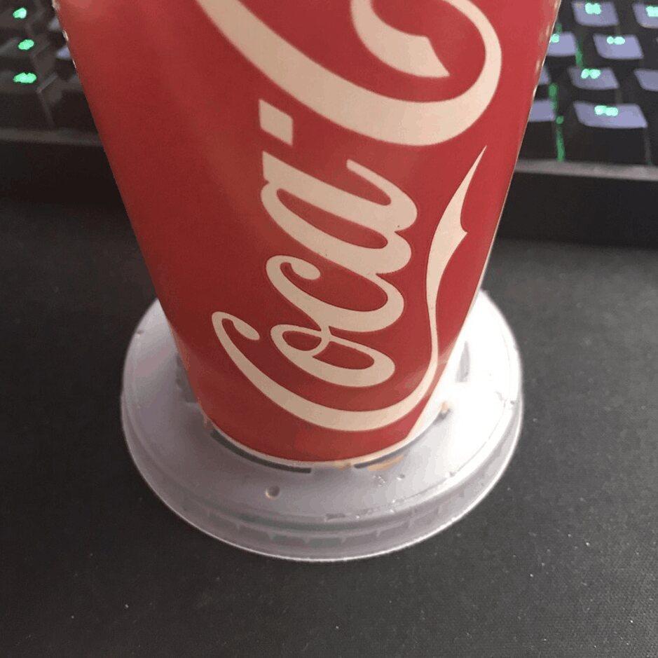 Soda Cup Coaster Lids