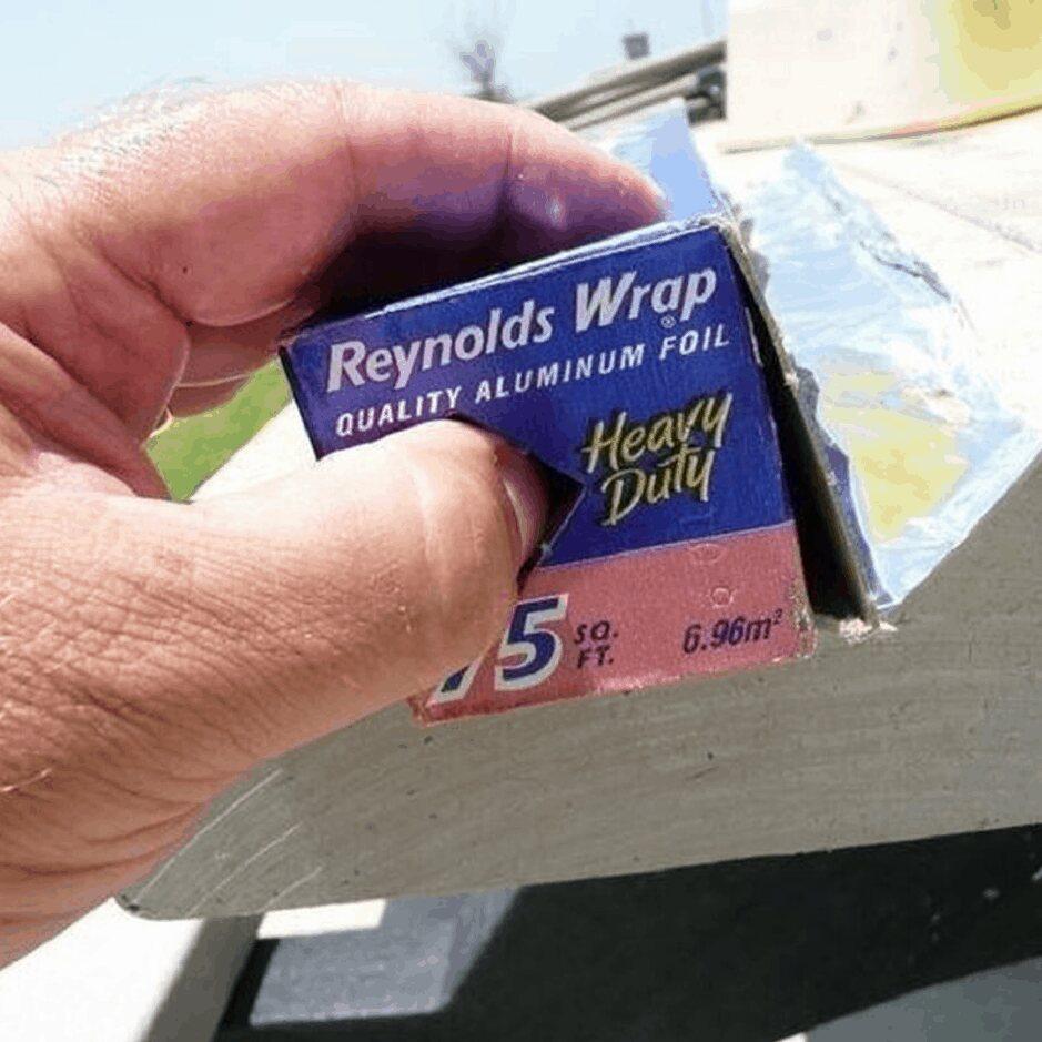 Boxes Of Aluminium Foil