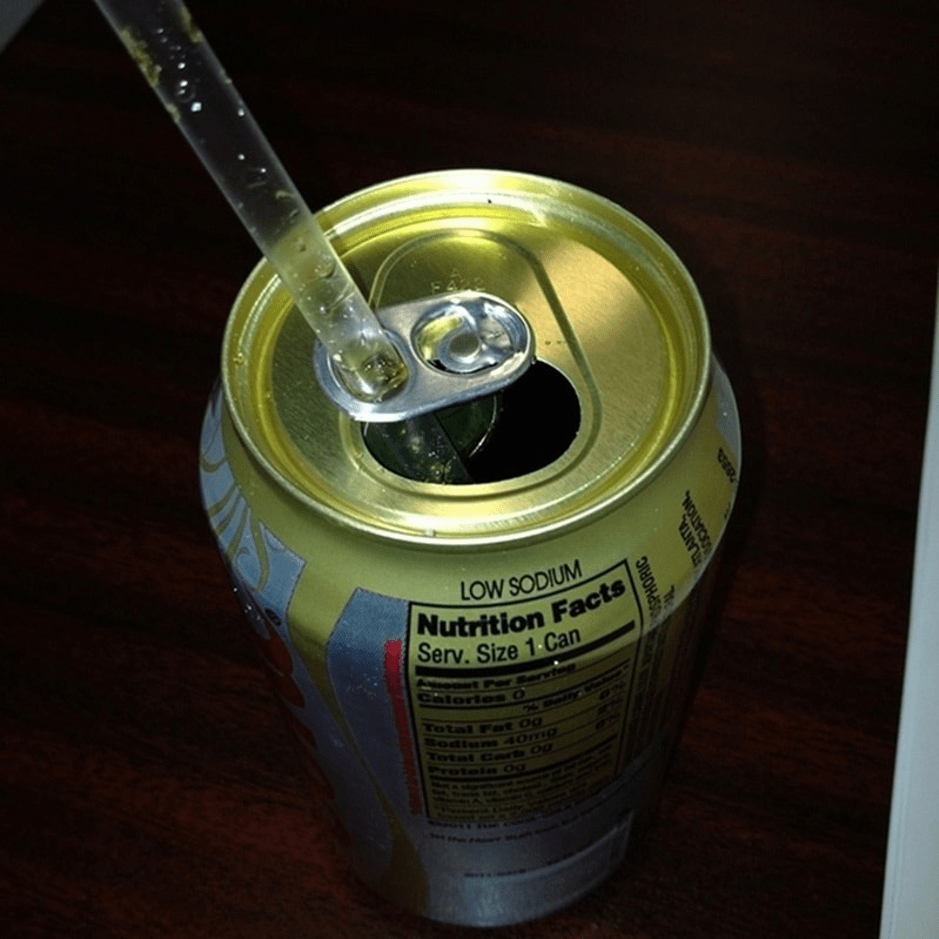 Tabs On Soda Cans