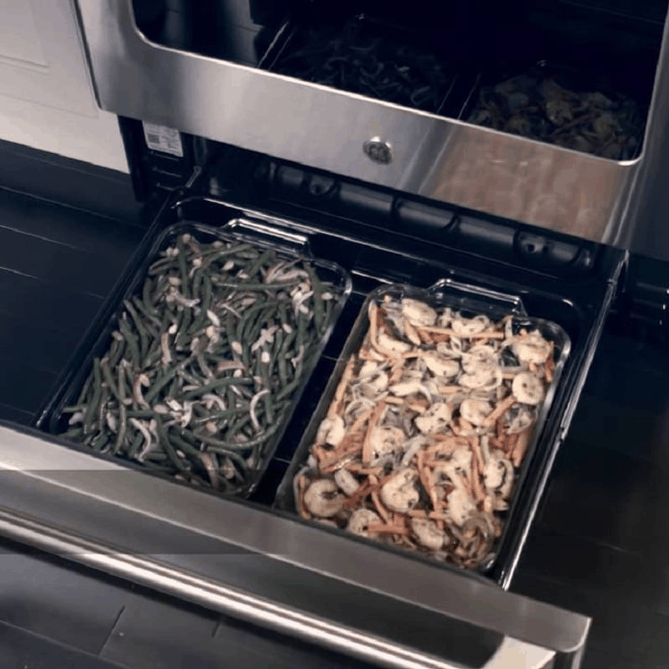 Drawers On Ovens