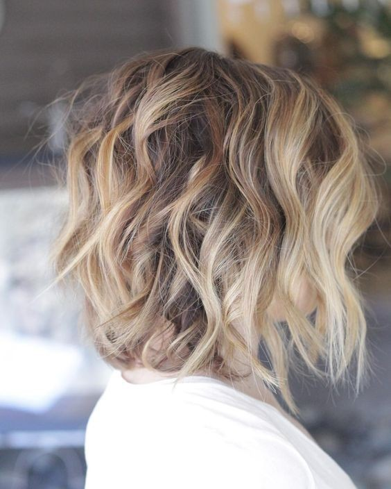 Messy Shoulder Length Hairstyles