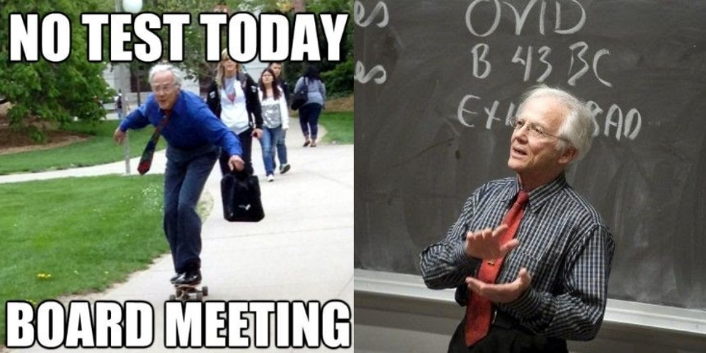 The Skateboarding Professor
